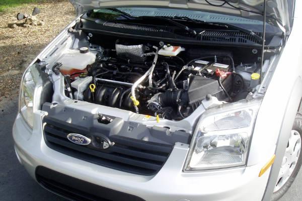 Bedrijfswagen met kapotte motor inkoop