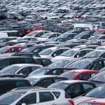 Auto voor export terrein